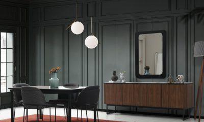 Paris Yemek Odası Takımı Mermer Desenli modelimiz Parlak Ev'de